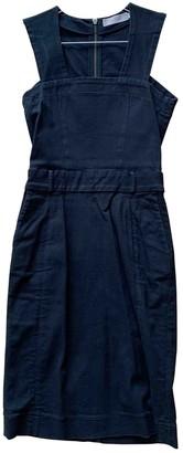 Preen Black Cotton - elasthane Dresses
