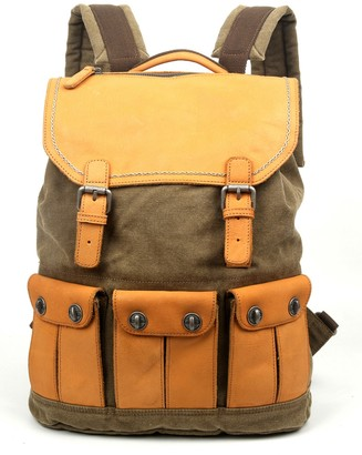 Tsd Valley River Canvas Backpack