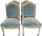 One Kings Lane Vintage French Louis XVI-Style Painted Chairs