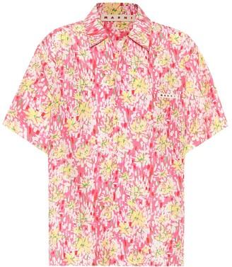 Marni Floral silk shirt
