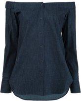 Rag & Bone off-the-shoulder shirt - women - Cotton - S