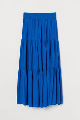 H&M Long Skirt - Blue