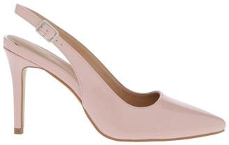 Miss Shop Lulu Blush Patent Heeled Shoes