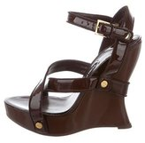 Tom Ford Patent Leather Platform Wedges