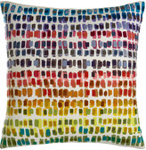 """Pine Cone Hill Paint Chip Embroidered Pillow, 20""""Sq."""