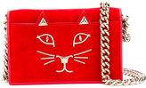 Charlotte Olympia Feline cross body bag - women - Leather - One Size