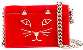 Charlotte Olympia Feline crossbody bag - women - Leather - One Size