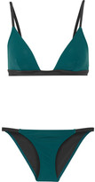 Solid and Striped - The Morgan Triangle Bikini - Jade