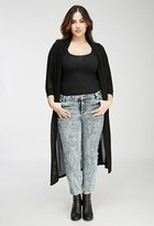 Forever 21 Plus Size Acid Wash Jeans