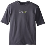 O'Neill Kids Skins Short Sleeve Rash Tee (Little Kids/Big Kids)
