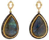 Sara Weinstock 18K Diamond & Labradorite Drop Earrings