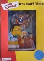 """Wesco Simpsons Moe's Tavern """"It's Duff Time"""" 2D Wall and Desk Clock"""