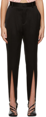 Y/Project Black Stirrup Trousers