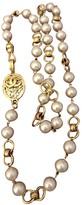 Chanel Baroque White Metal Necklaces