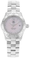 Tag Heuer Aquaracer WAF141H.BA0813 Stainless Steel & Diamonds Quartz 27mm Womens Watch