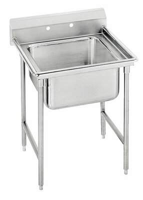 """Advance Tabco 930 Series 29"""" x 27"""" Free Standing Service Sink Advance Tabco"""