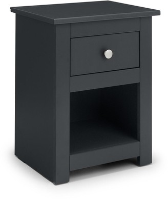 Radley 1 DrawerBedside Chest - Athracite