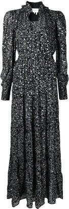 BA&SH Alegria floral-print tiered dress