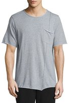 Rag & Bone Fabian Short-Sleeve Jersey Tee, Gray