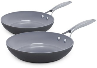 Green Pan Paris Pro Ceramic Non-Stick 2-Piece Fry Pan Set