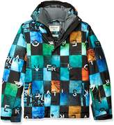 Quiksilver Big Boys' Mission Printed Youth Snow Jacket