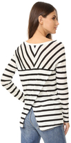 BB Dakota Merel Striped Long Sleeve Tee