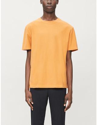 Samsoe & Samsoe Aso regular-fit cotton-twill T-shirt