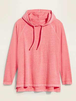 Old Navy Lightweight Specially Dyed Jersey Pullover Plus-Size Hoodie