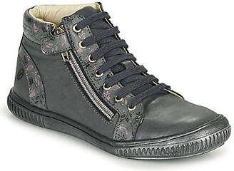 GBB RACHIDA girls's Shoes (High-top Trainers) in Grey