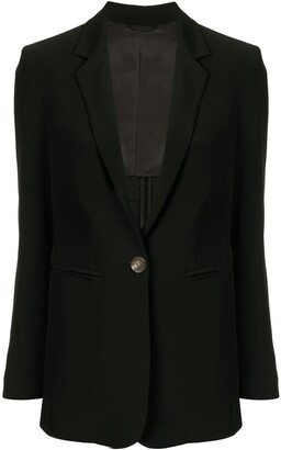 CK Calvin Klein One-Button Blazer