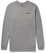 Patagonia P-6 Logo Printed Organic Cotton-Jersey T-Shirt