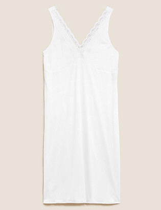 Marks and Spencer Lace Trim Full Slip