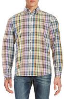 Black Brown 1826 Plaid Laundered Sportshirt