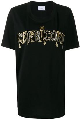Dondup Capricorn slogan T-shirt