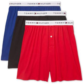 Tommy Hilfiger Men 3-Pk. Classic Knit Cotton Boxers