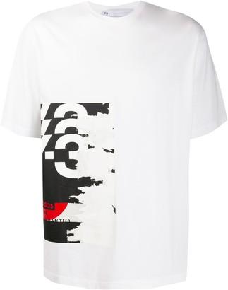 Y-3 graphic logo print T-shirt