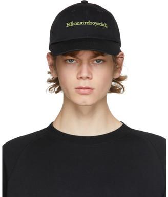 Billionaire Boys Club Black Logo Embroidered Curve Visor Cap