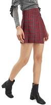 Topshop Women's Punky Plaid Kilt Miniskirt