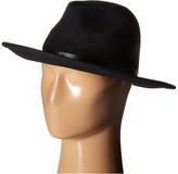 BCBGMAXAZRIA Chained Panama Hat
