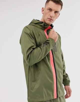 adidas Training wind jacket in green