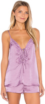 Band of Gypsies Lace Front Satin Cami