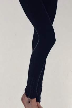 Paige Charlie Ruffle Zipper Leggings