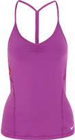 Nike Indy mesh-paneled stretch-jersey tank
