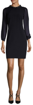 Donna Ricco Embellished Collar Sheath Dress