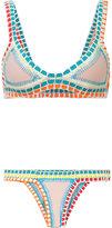 Kiini Luna bikini - women - Nylon/Polyester/Spandex/Elastane - L
