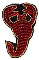 Scorpion Brooch