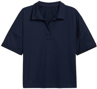 Banana Republic JAPAN EXCLUSIVE SUPIMA Cotton Boxy Polo Shirt