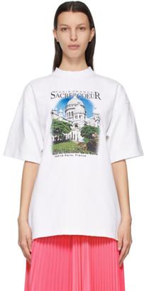 Balenciaga White Sacre Coeur T-Shirt