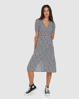Don't Ask Amanda Kay Floral Midi Skirt