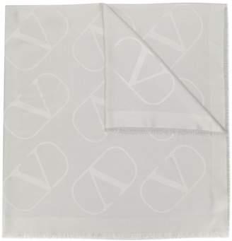 Valentino VLOGO jacquard shawl